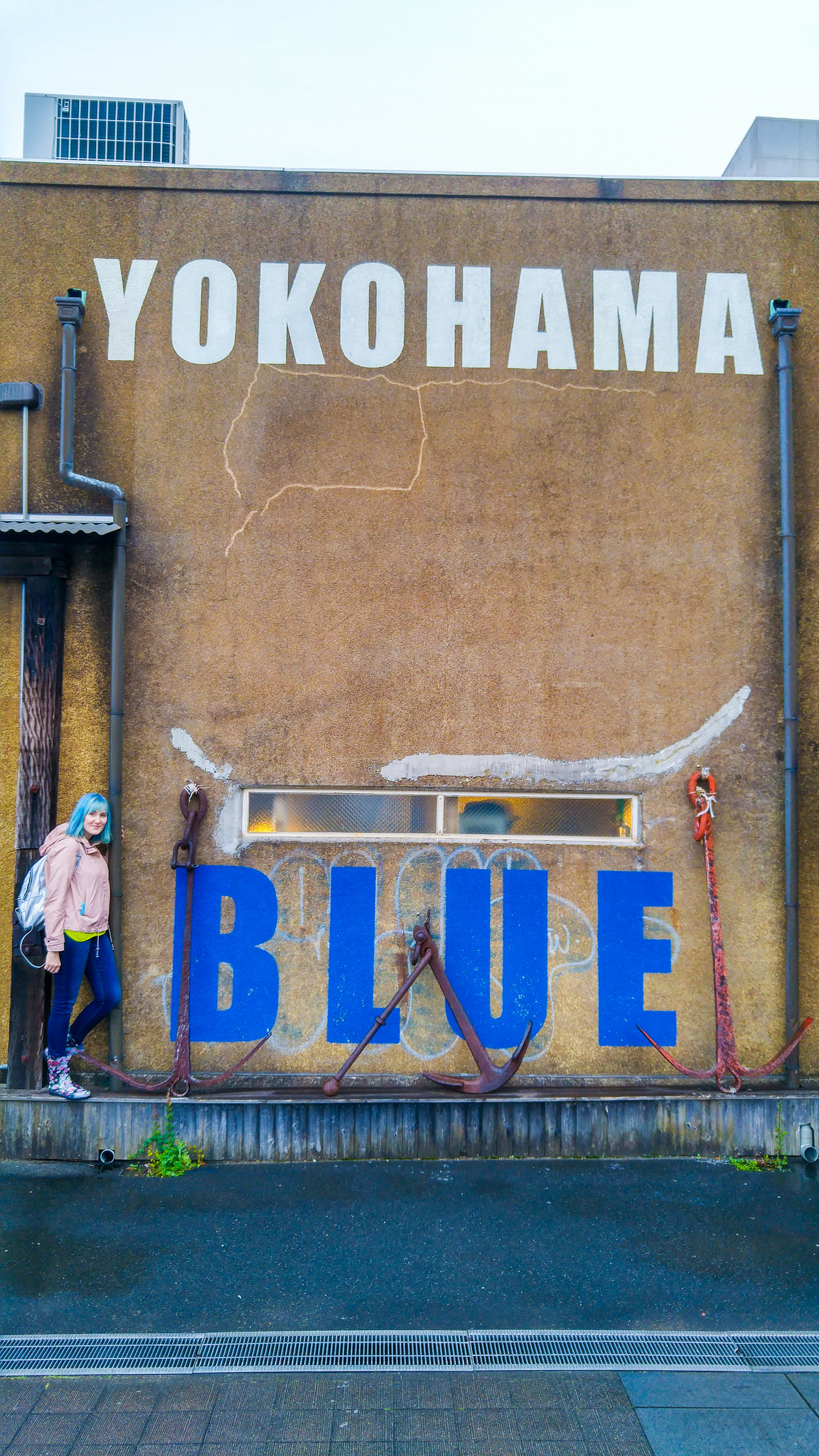 Exploring Blue Yokohama, Japan