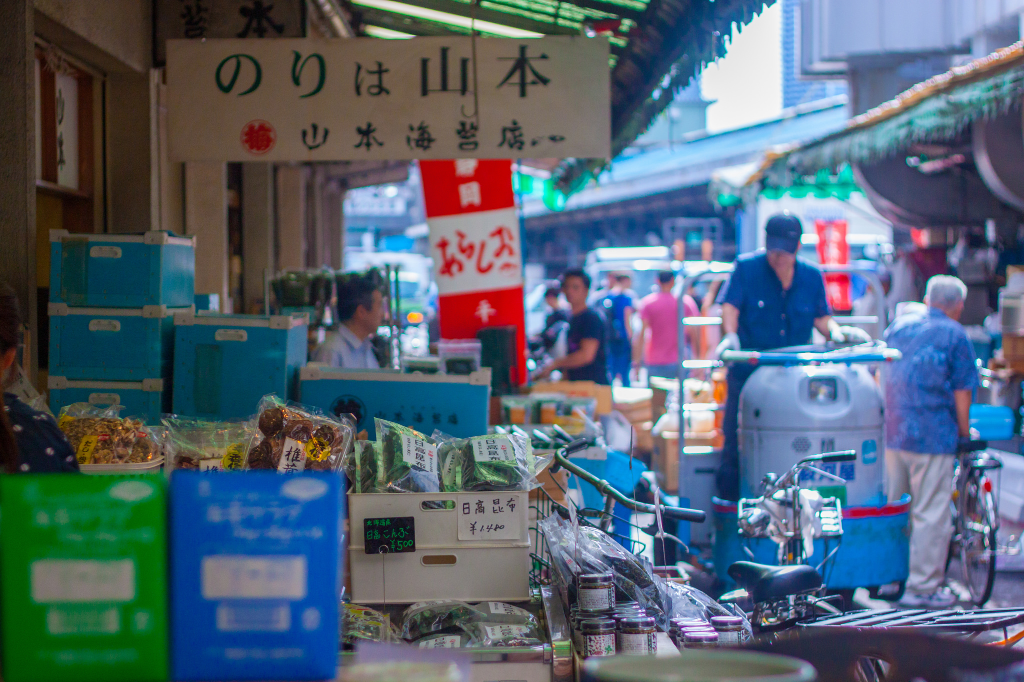 Guide to the Tsukiji Outer Market