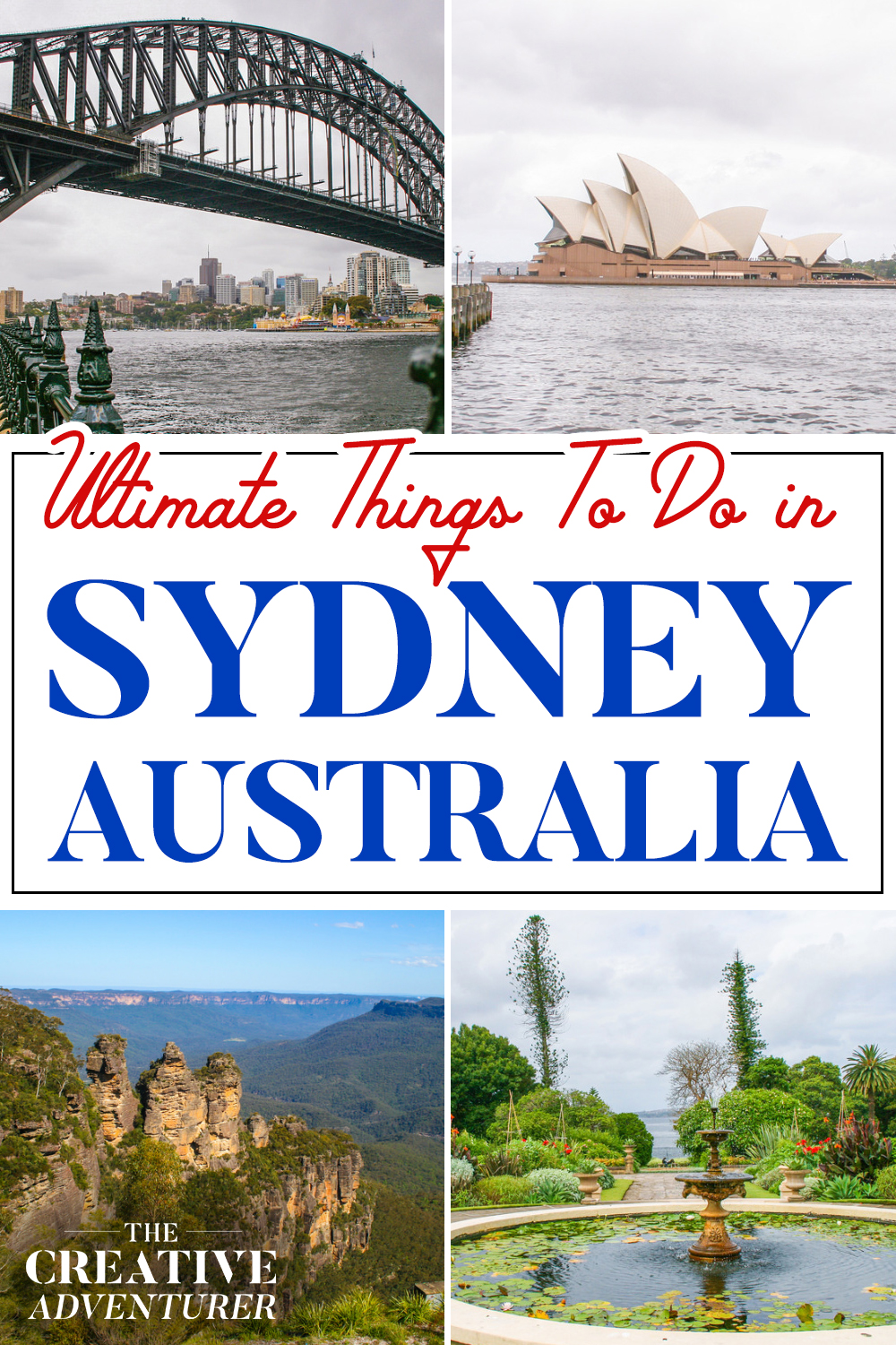 Ultimate Things To Do in Sydney Australia