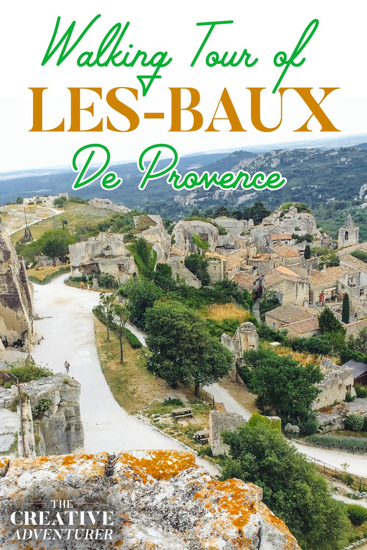 Self-Guided Walking Tour of Les Baux-de-Provence
