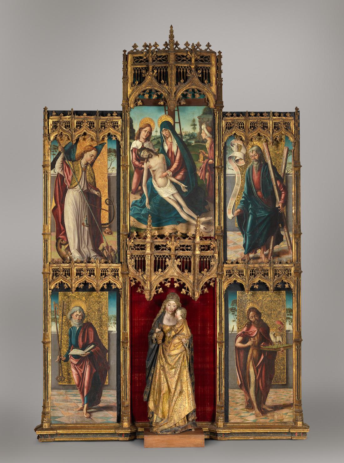 Spanish (Castilian) Painter (late 15th century) via the MET