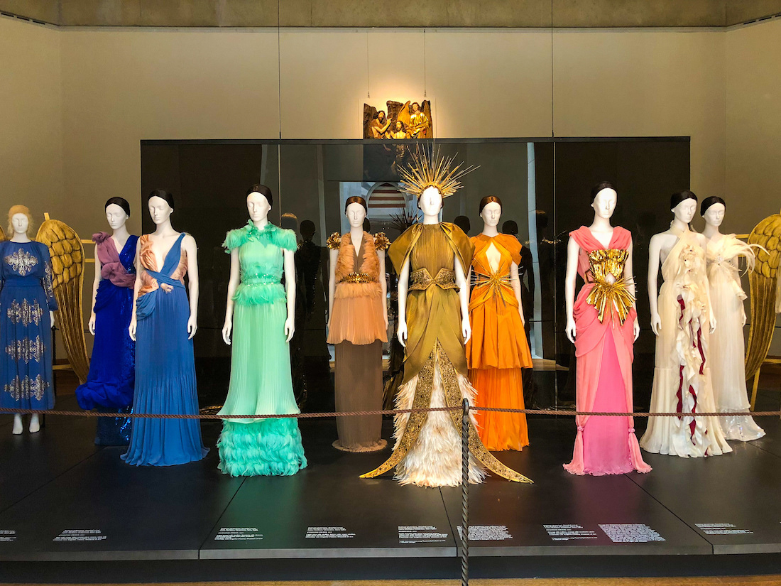 MET Heavenly Bodies Exhibition: 5th Avenue Collection