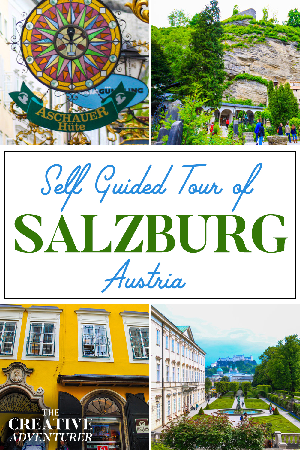Self Guided Walking Tour of Salzburg