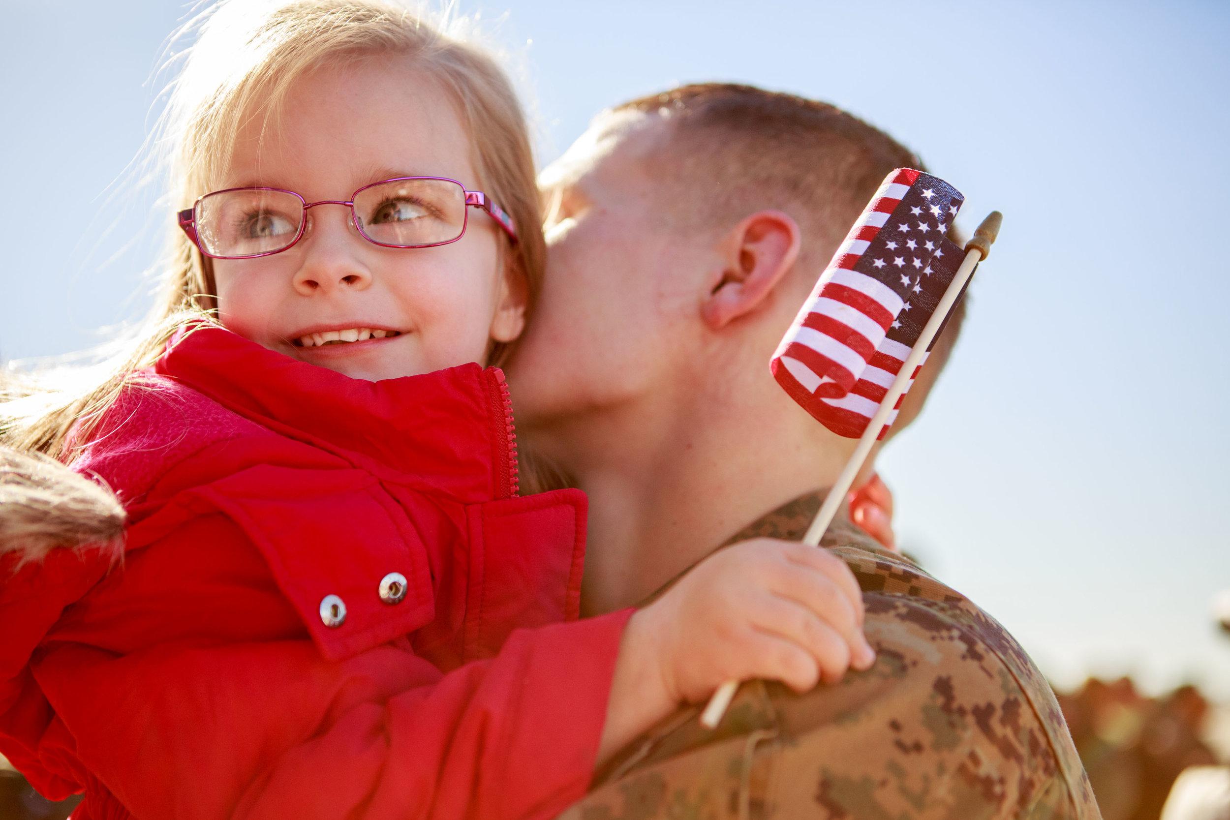 NC Military homecoming photographer Tiffany Abruzzo Photography