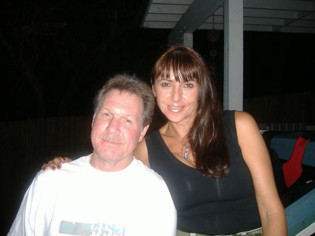 Dad & Margarita, my stepmom. So cute!
