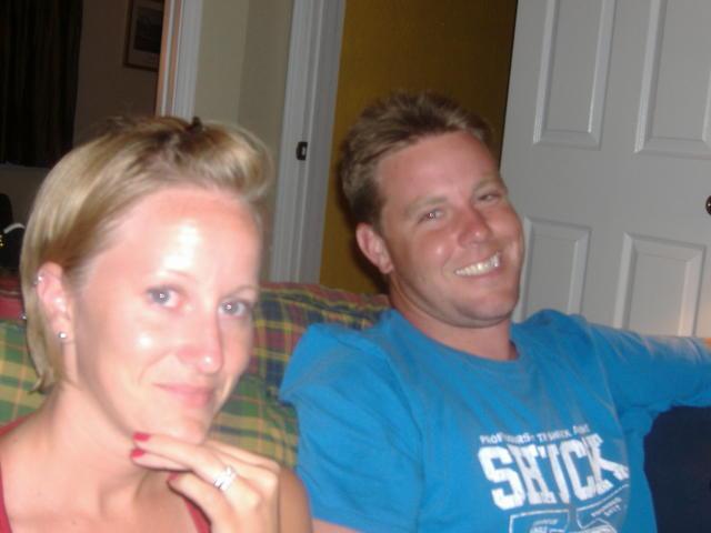Melissa & Jeff--no butt-cut today!