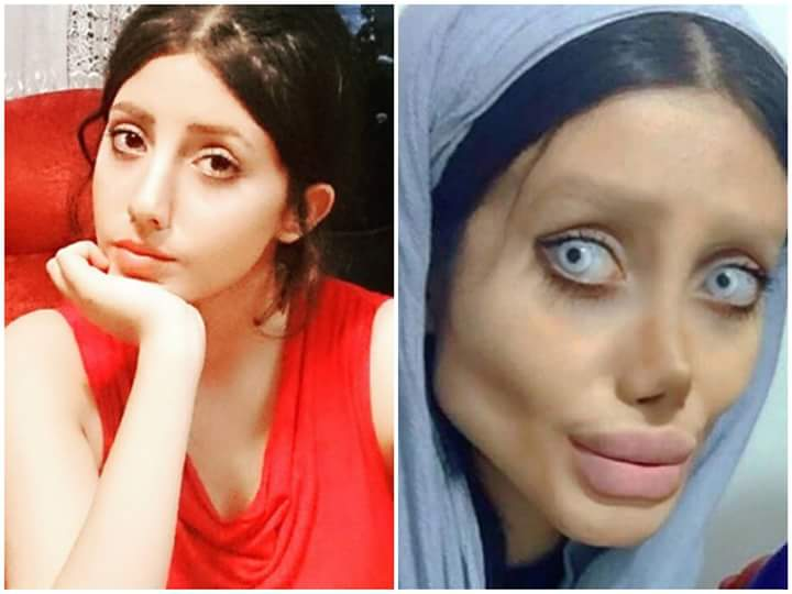 From an average teenager into Corpse Bride (Photo credit:  @mysterious13467 )