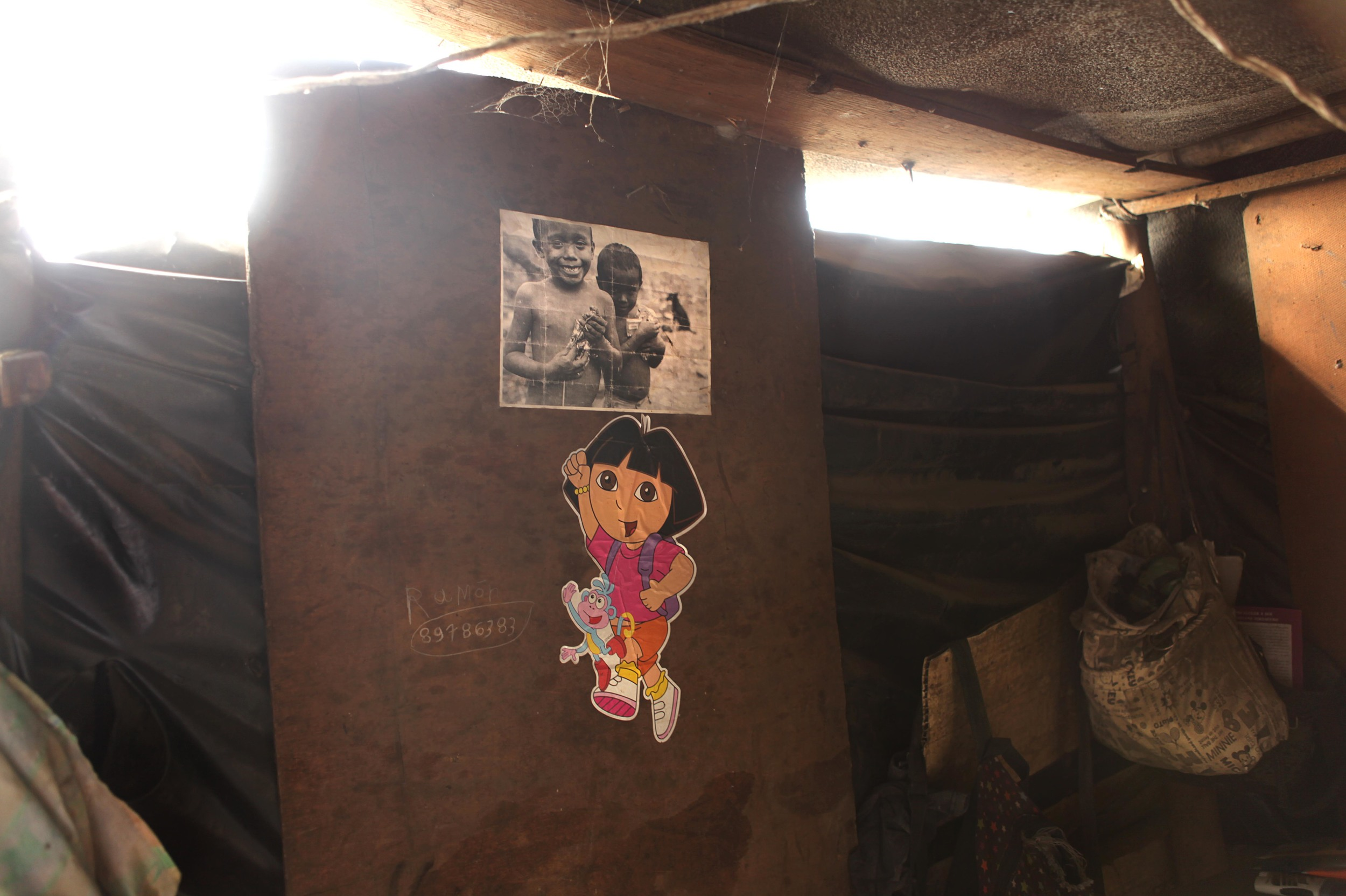 The most touching part of my third trip was to see the photo I took during my first trip that I gave the Juarez Lopez family during my second trip hanging over their bed inside their small home.