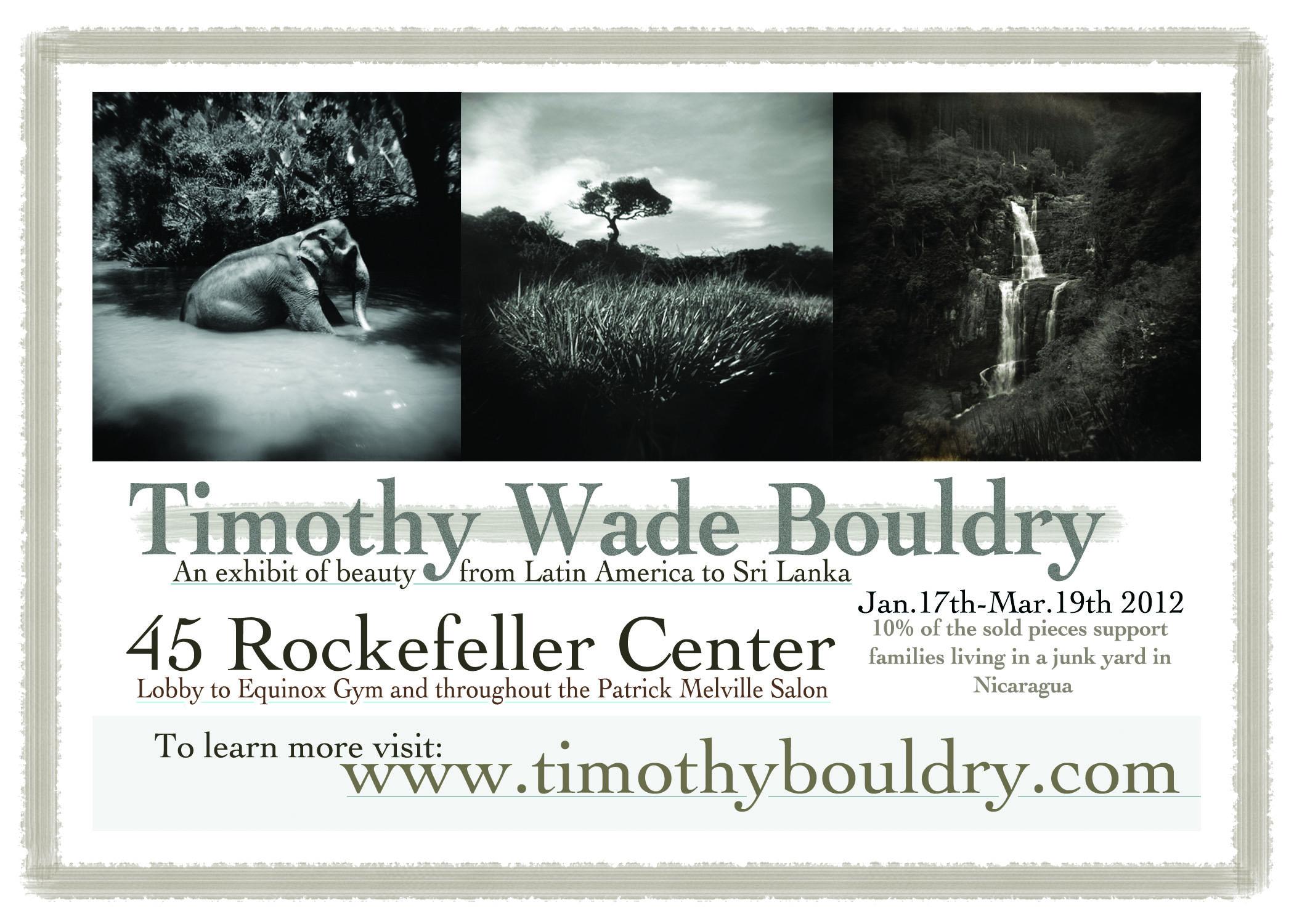Exhibition at Rockefeller Center.
