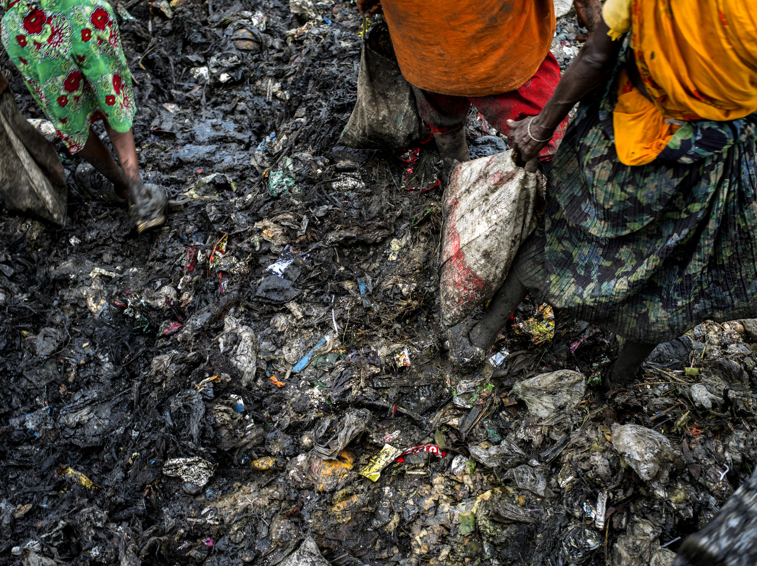 Mutuail Landfill in Dhaka, Bangladesh.