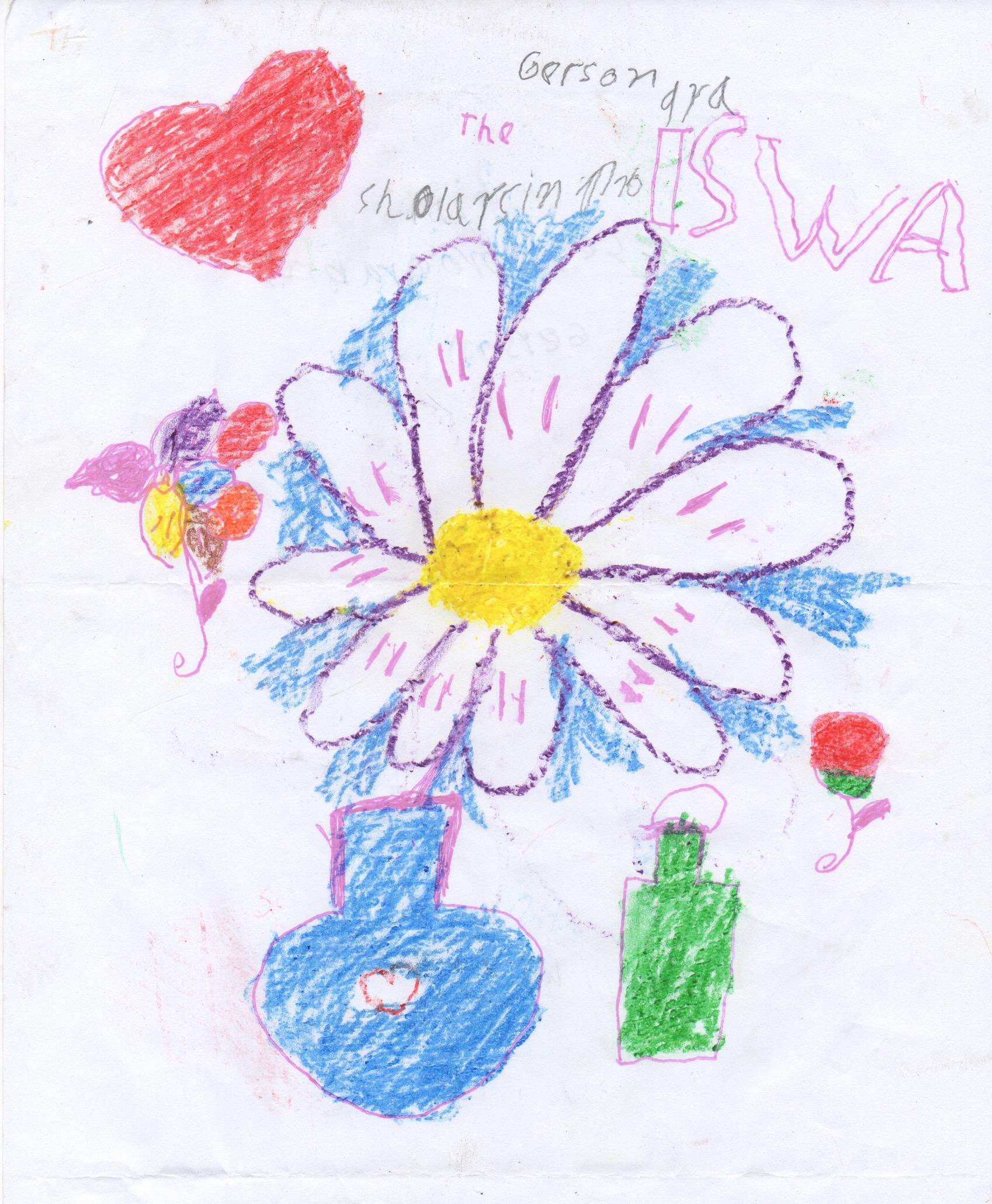 Gerson's winning artwork!