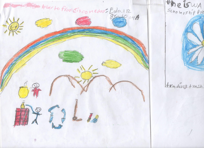 Roberto's winning artwork!