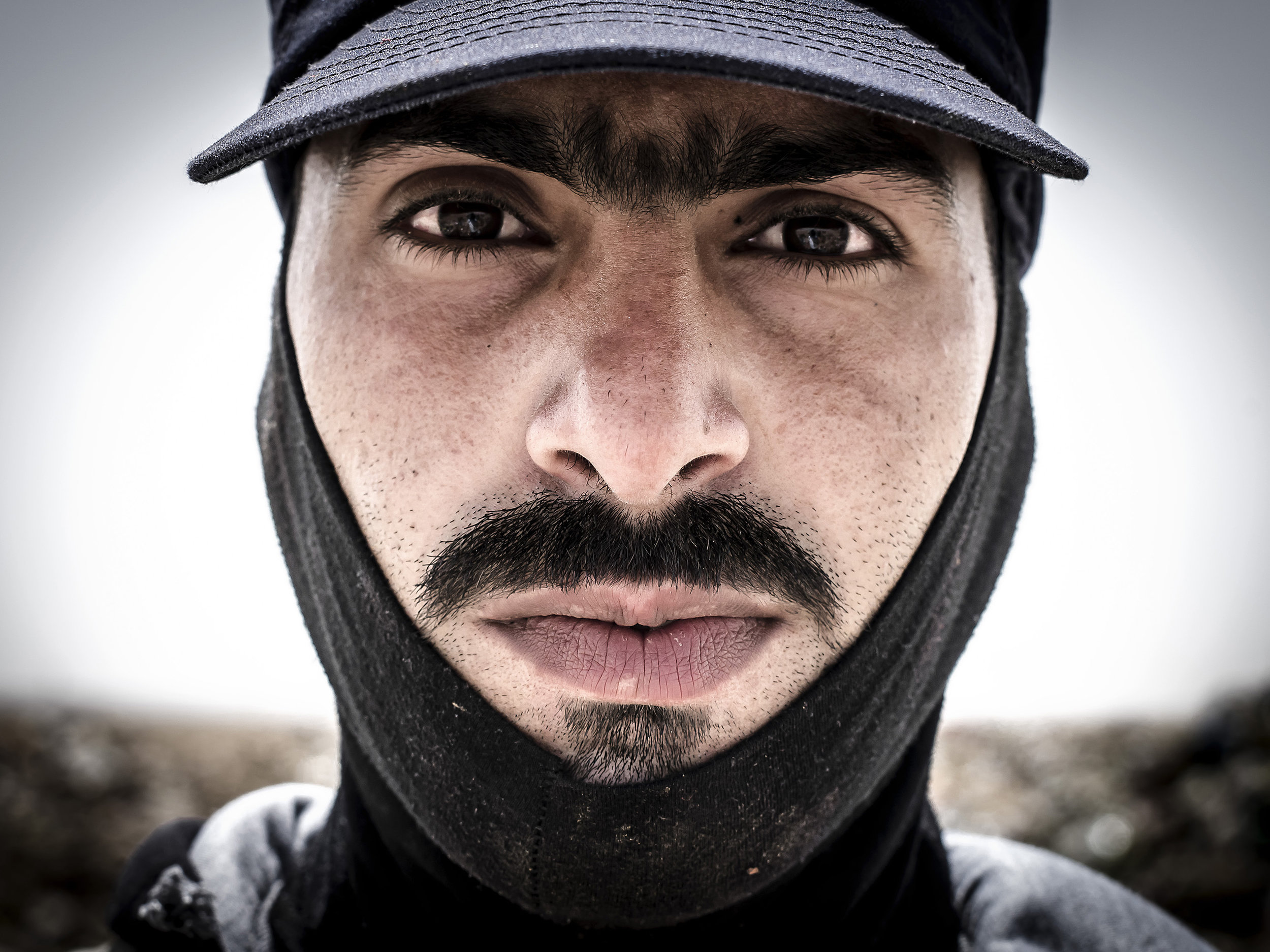 Mohammad Badawi, 33 years old working at the Huseyneya dumpsite in Mafraq in Jordan.