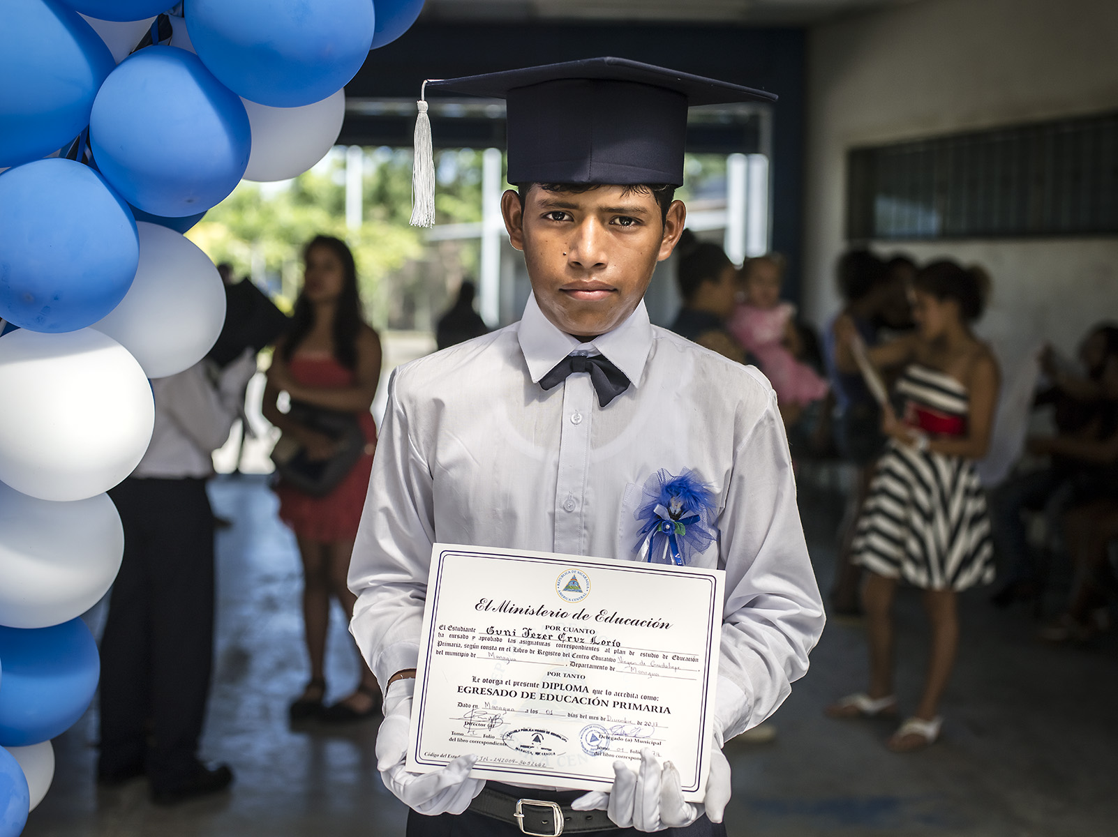 Congratulations Guni. Now you are ready for high school!