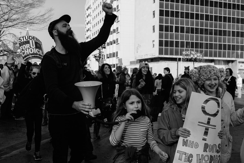 Documentary, photojournalism, Women's March, Lansing, Michigan