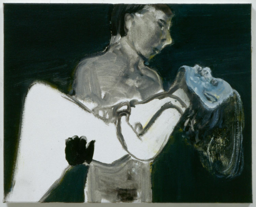 Image Credit: Marlene Dumas The Image as a Burden, 1993, Oil on canvas 15 3/4 x 19 2/3 (inches 40 x 50 cm) Courtesy of the artist and David Zwirner, New York
