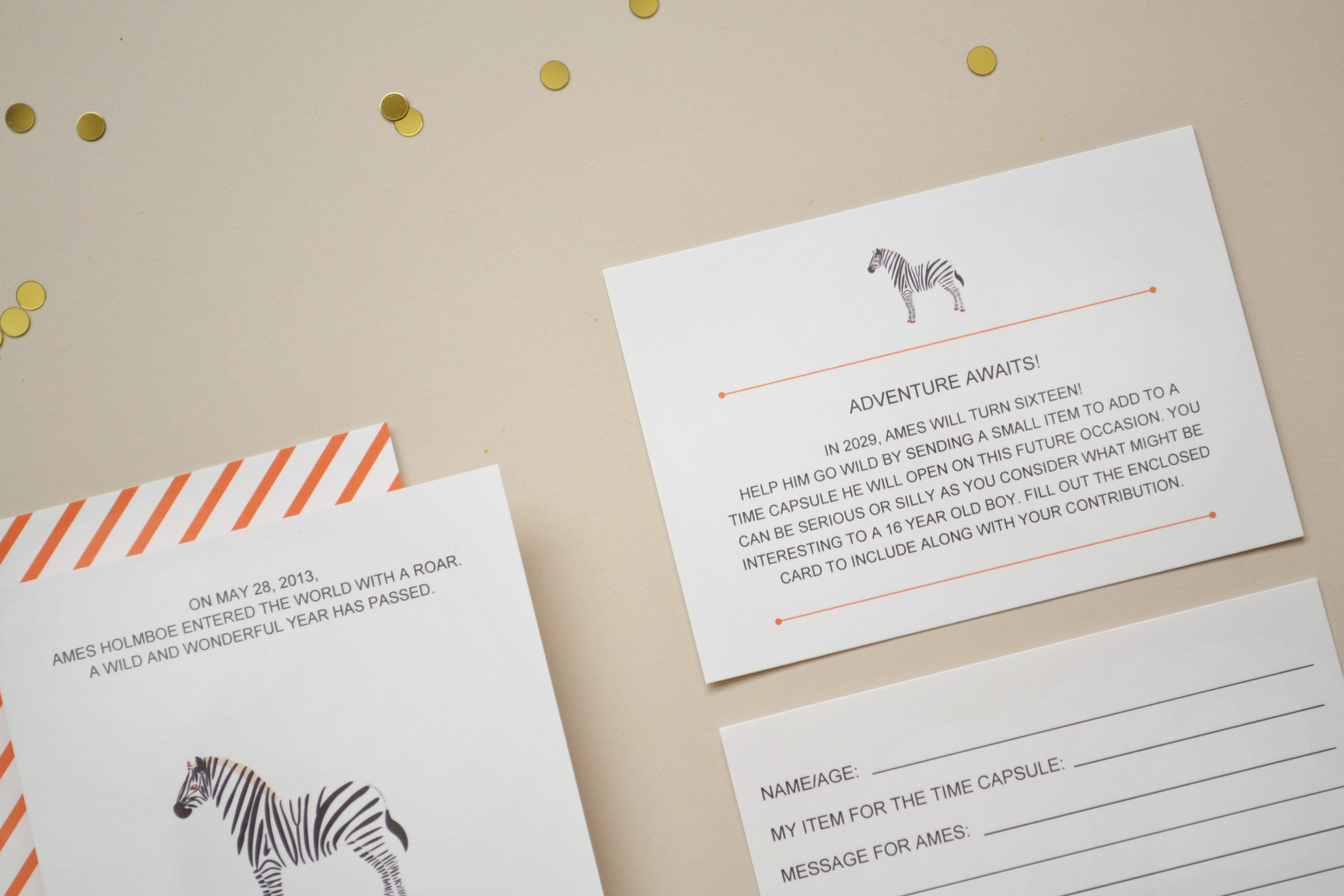 Safari Birthday Invitation by Simplicity Papers