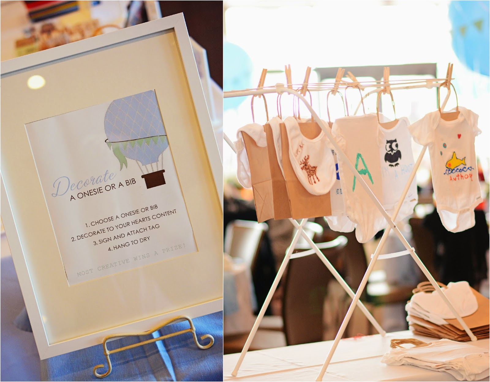 Hot Air Balloon Baby Shower, Paper Goods by Simplicity Papers