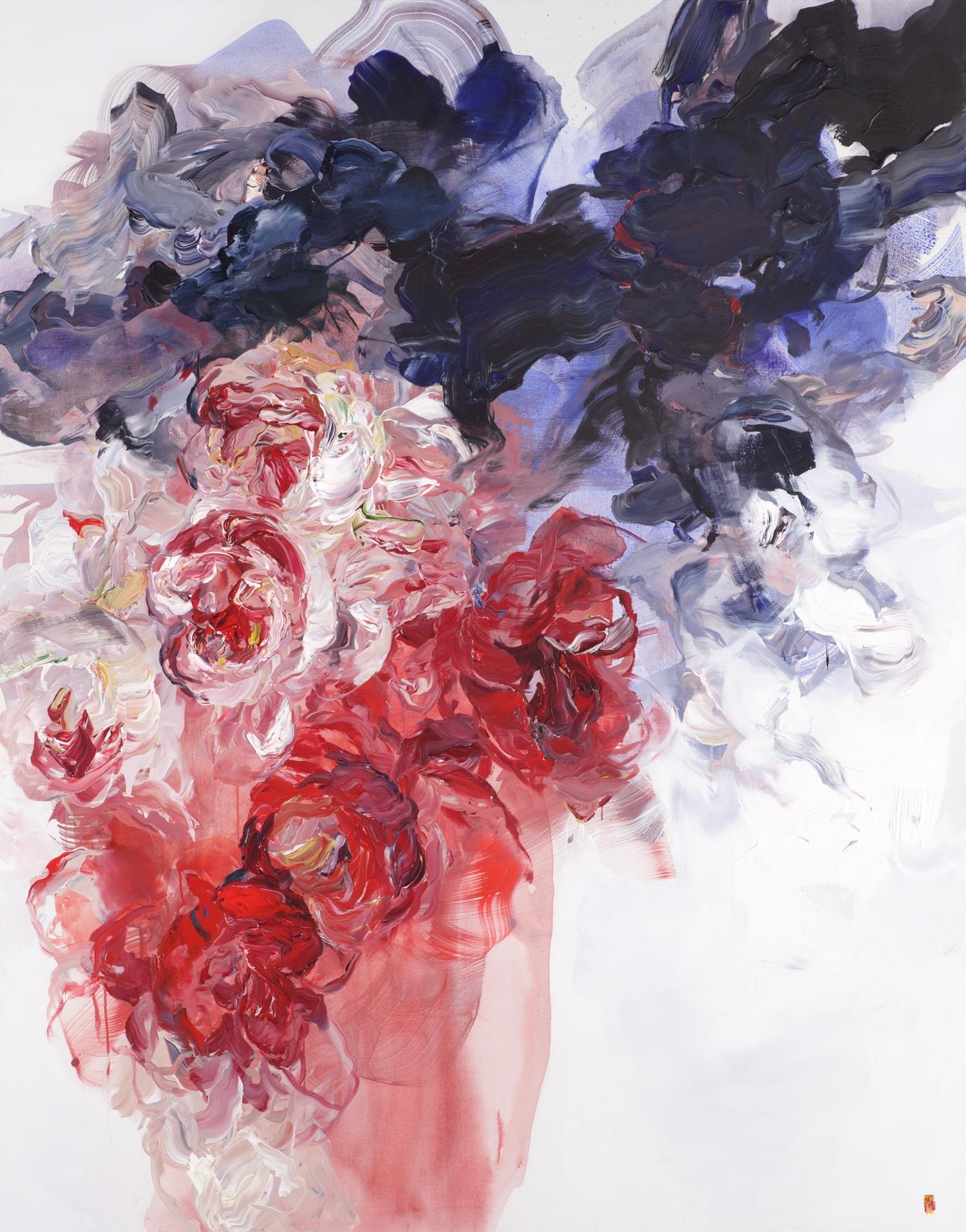 Blindfold #2 84x66 2016