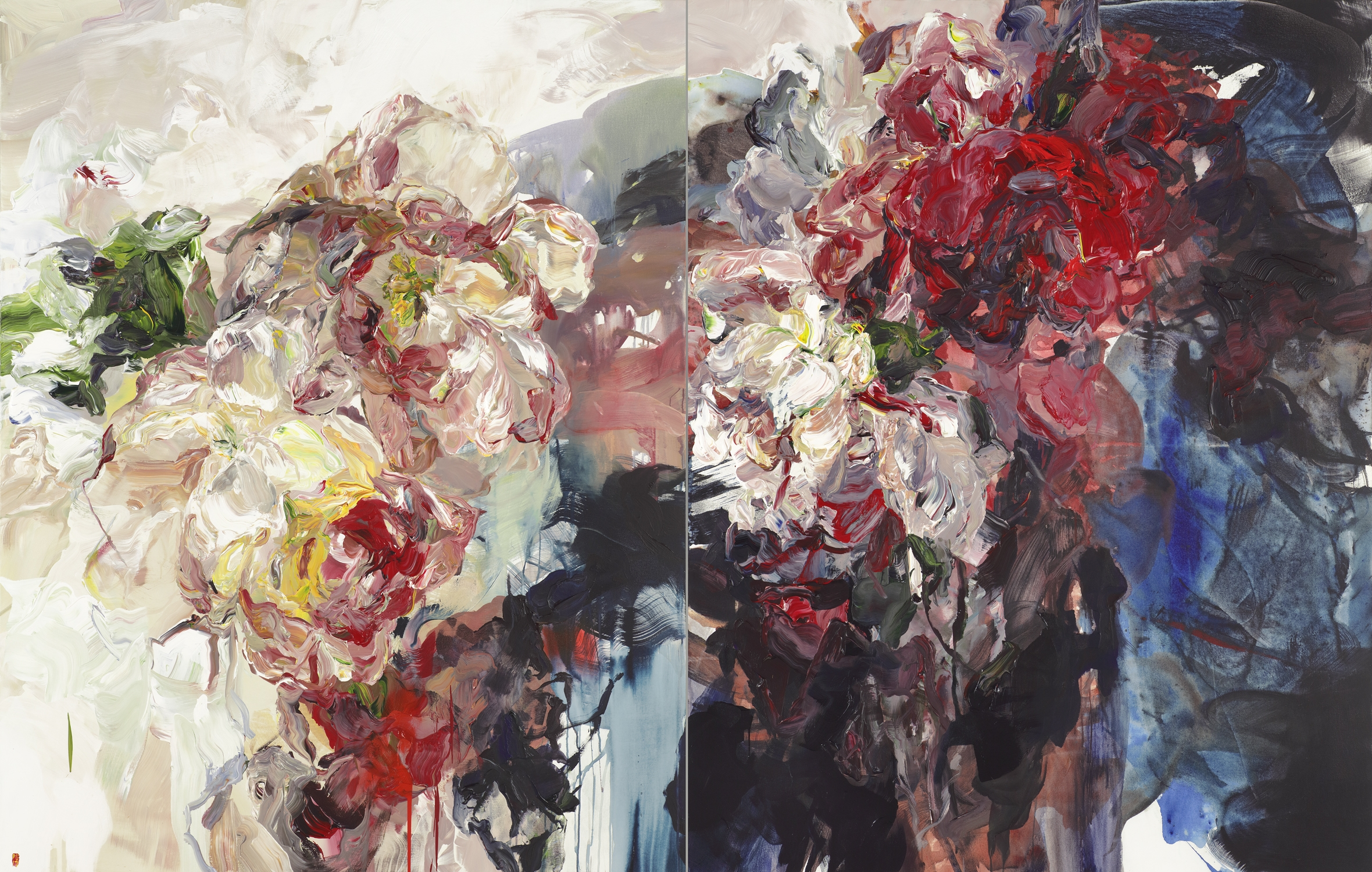Seeds Of Triumph diptych 2x84x66 2017