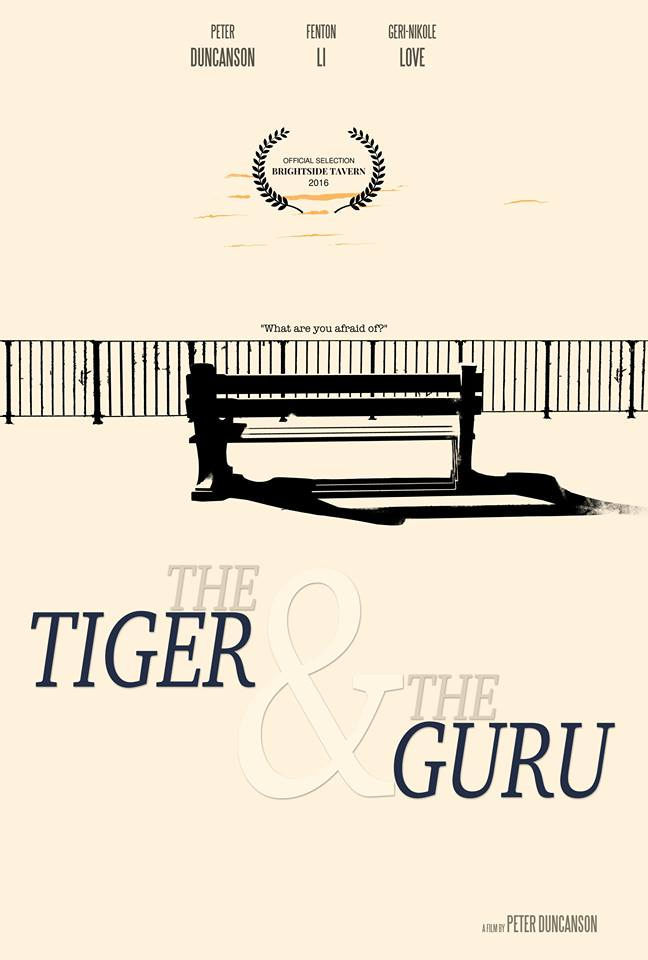 THE TIGER AND THE GURU - An allegorical tale of Fear and Love. A man discovers that by facing the caged tiger within, he triumphs and finds love.Winner of New Upcoming Director at