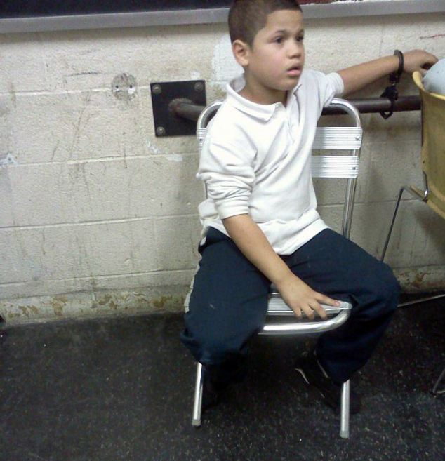 Wilson Reyes, 7, of PS 114 in the Bronx