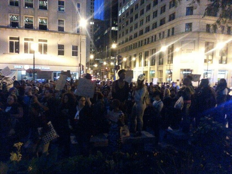 @BaburRealer: Now folks are sharing their stories about police violence and brutality. #NMOS14 #Chicago  http://t.co/rq3vdijBLs