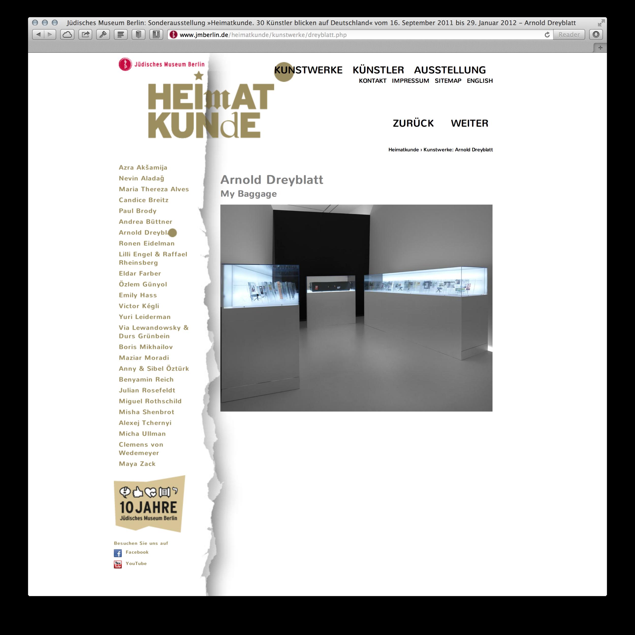 Screenshot Kunstwerke