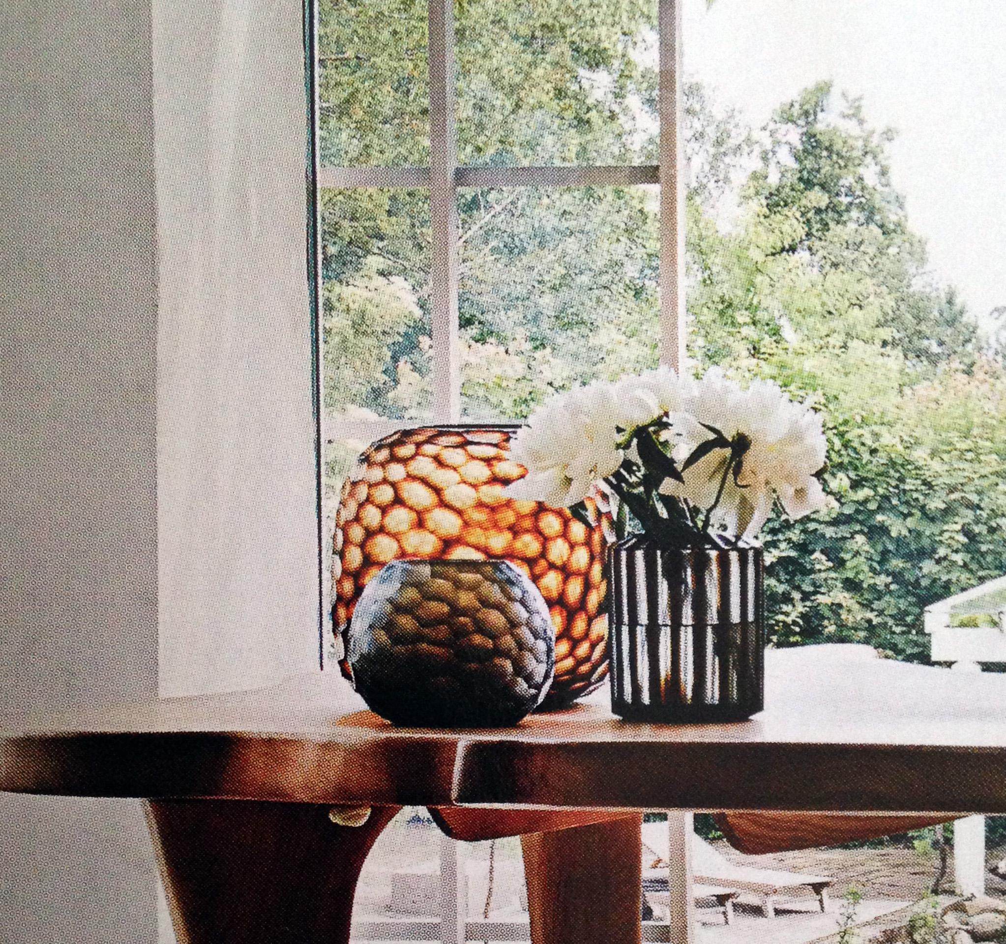 Tre forskellige Guaxs-vaser i skøn harmoni