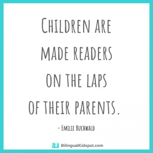 Take the time to read to your children!