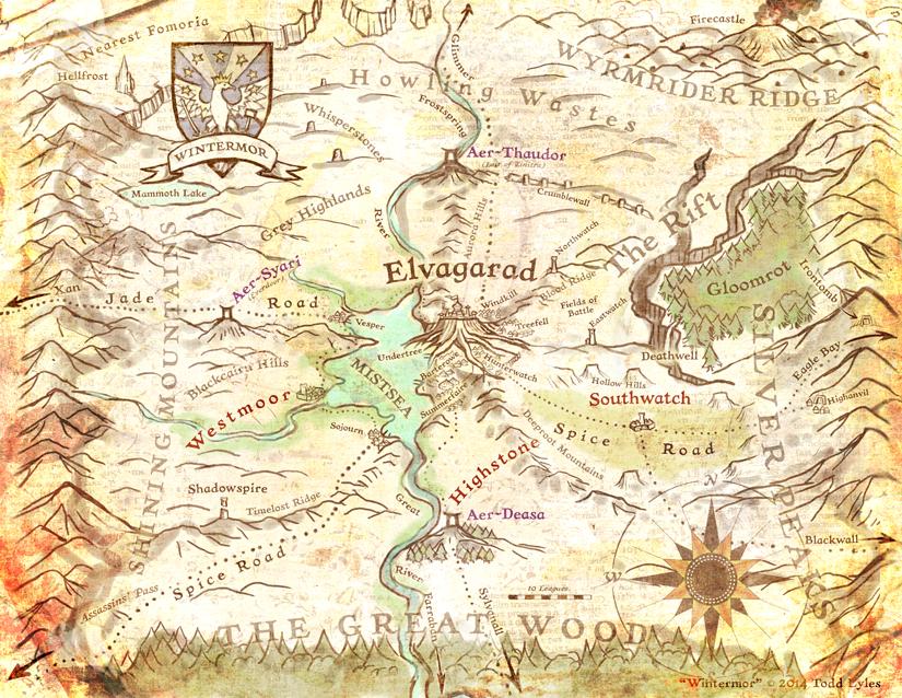 The Kingdom of Wintermor.