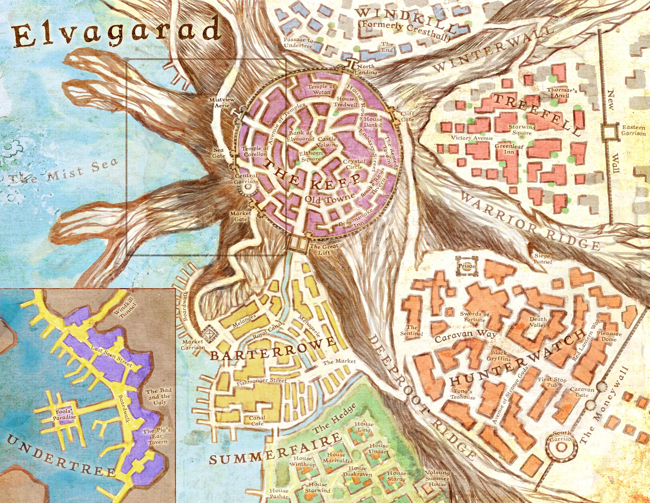 The City of Elvagarad.