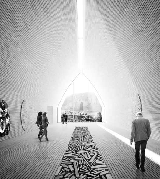 Winning Design: Bamiyan Cultural Centre