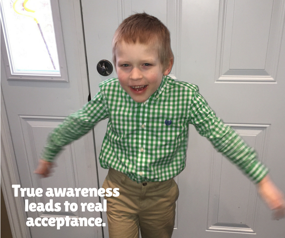 He was so excited to go to school dressed up in his green shirt. :)
