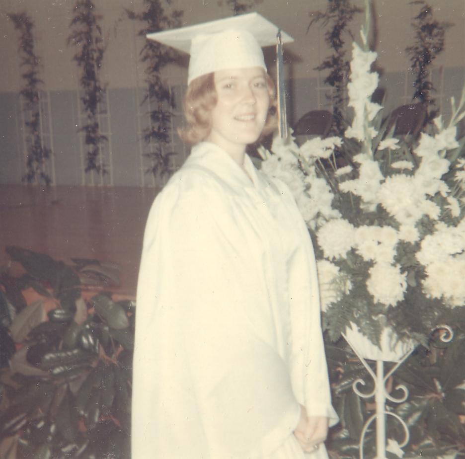 Salutatorian of her high school class.