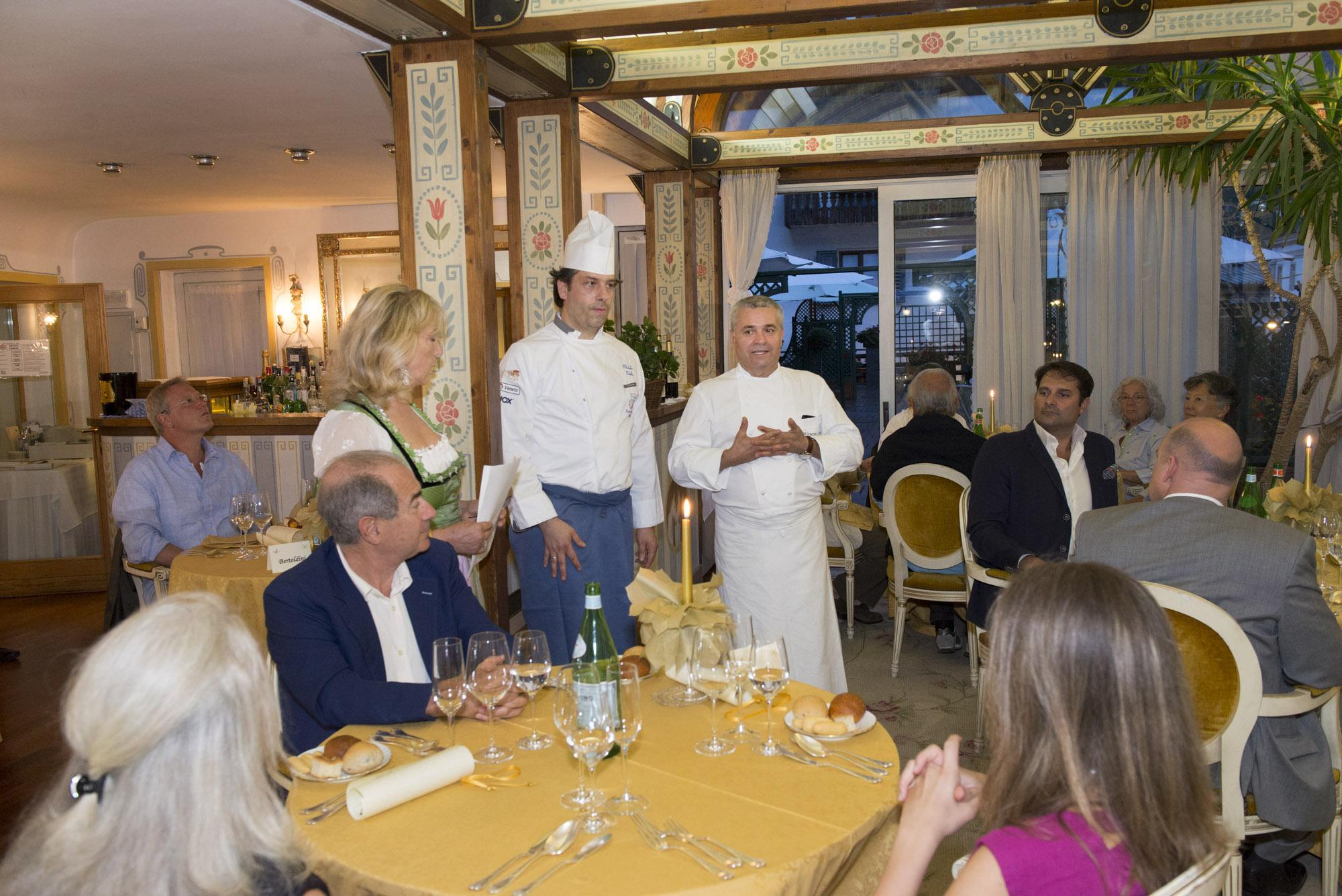 Gli chef Michele Nobile e Valentino Marcattilii (ph. Giacomo Pompanin)