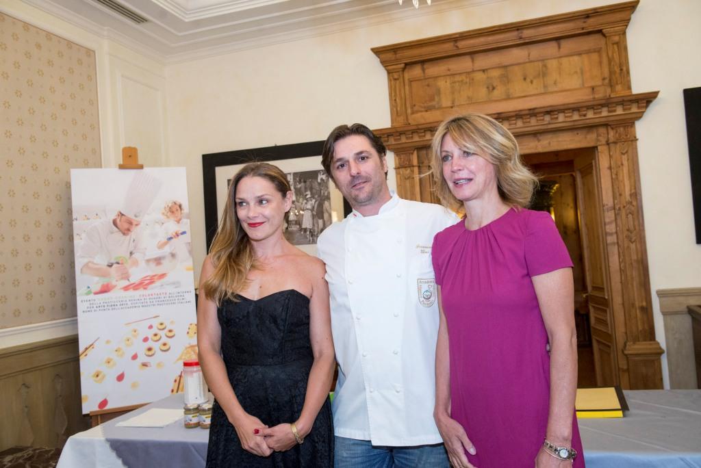 Fabrizia Sacchi, Francesco Elmi e Margherita Buy(Ph. Giacomo Pompanin)