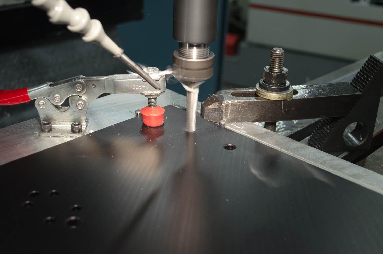 Reworking Aluminum Component