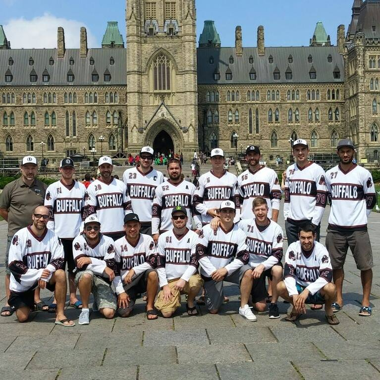 Team Picture at Parliament