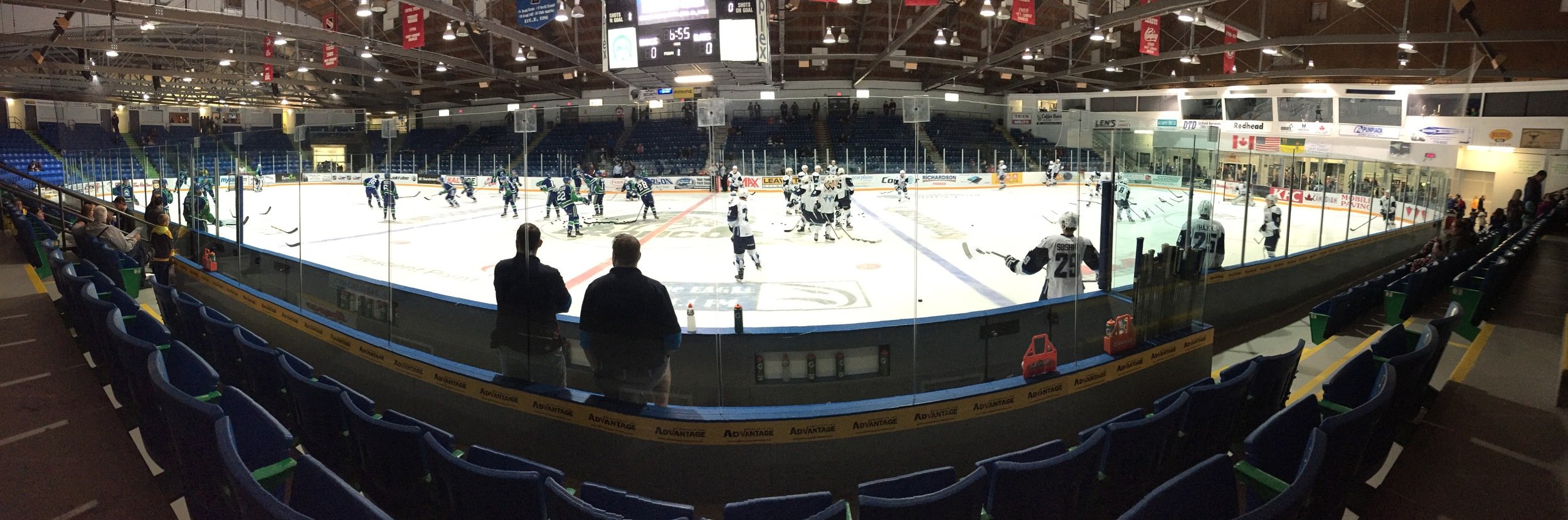Our family travelled to Swift Current to watch the boys pick up a 4-0 win!