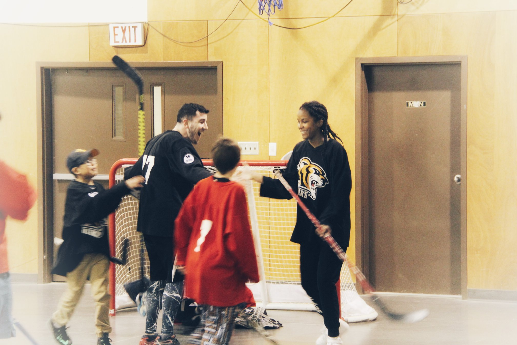 Celebrating and encouraging kids as they succeed (and score sick goals).