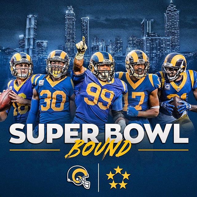 To celebrate the Los Angeles Rams appearance at this year's Super Bowl, we are offering $75 off your online Calbreak deposit!  One week only! Use online code at checkout: SUPERBOWL 🏈🏈🏈 #superbowl #larams #calbreak #springbreak