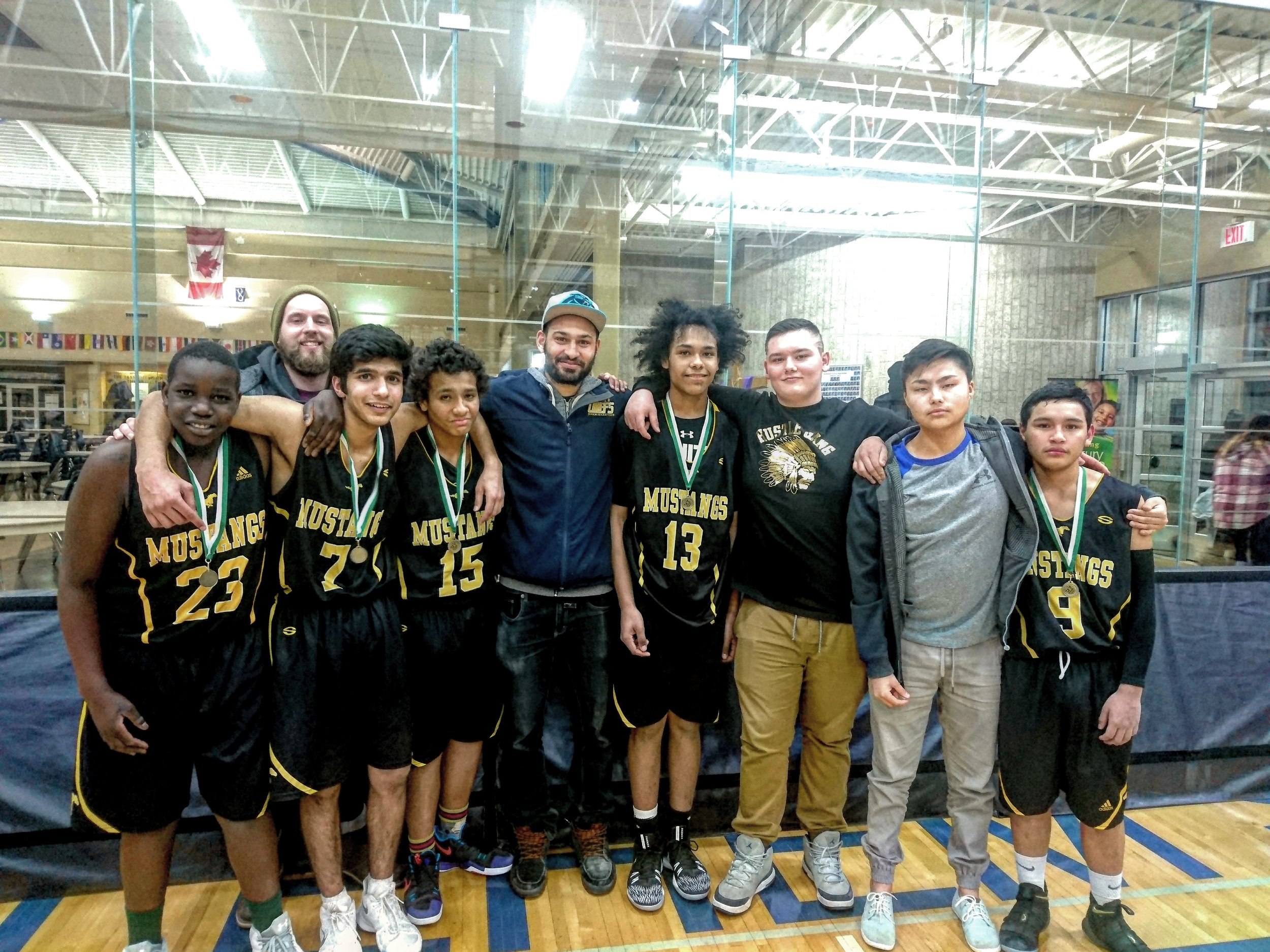 Last year's team, they won the junior city championship!