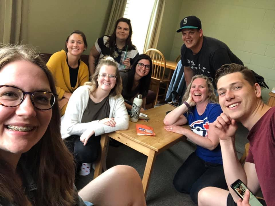 Ou amazing small group from the week repping room 201.