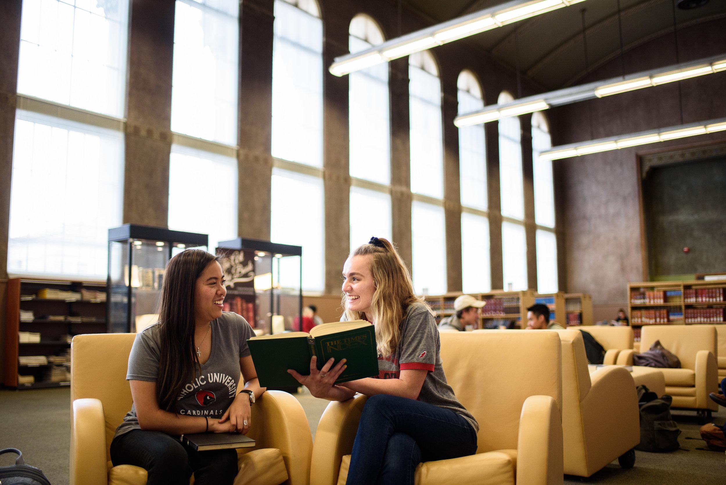 Catholic University of America. CUA Mullen Library.
