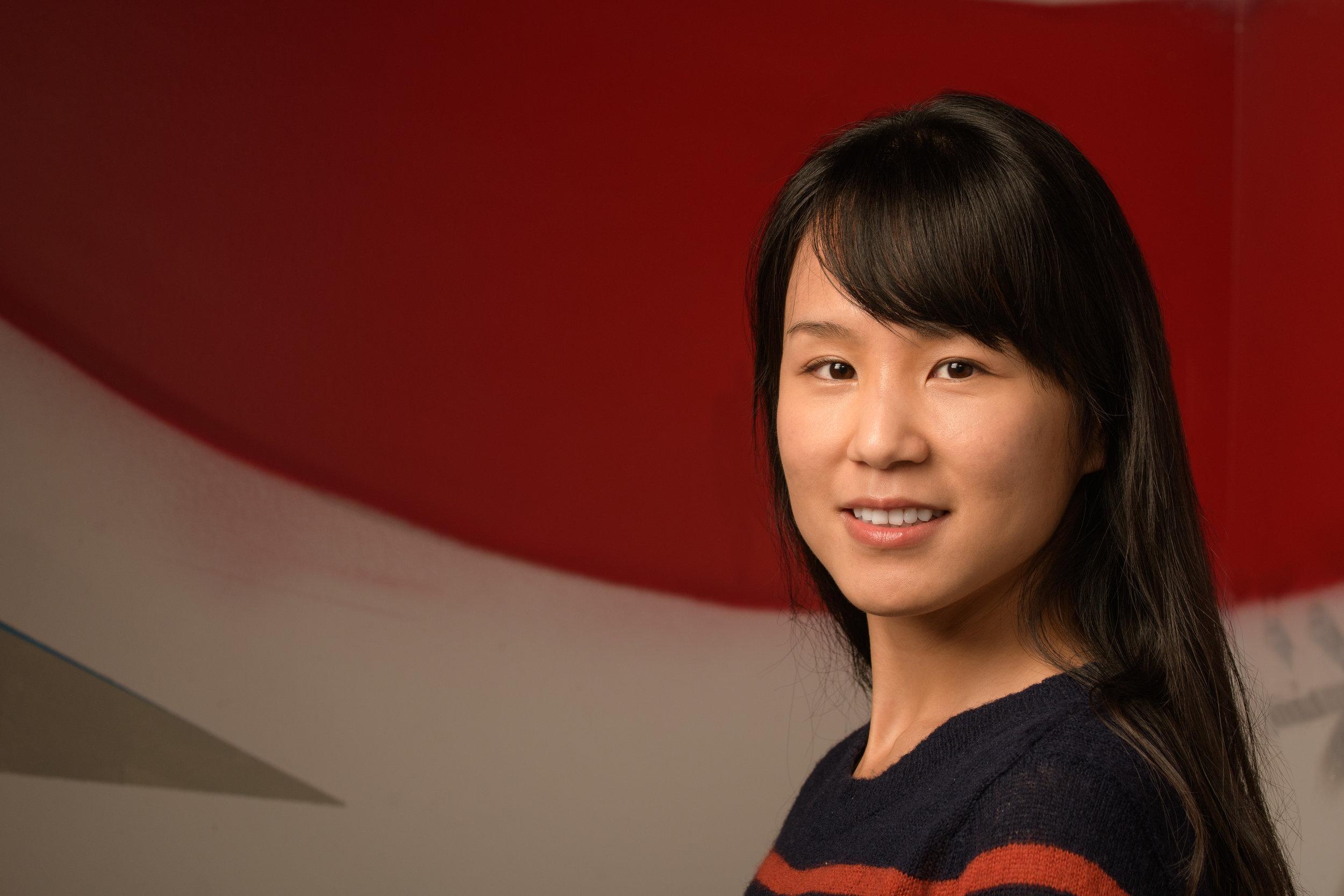 Portrait of JingJing Gu photographed in Reston, VA for Perfect Sense Digital.