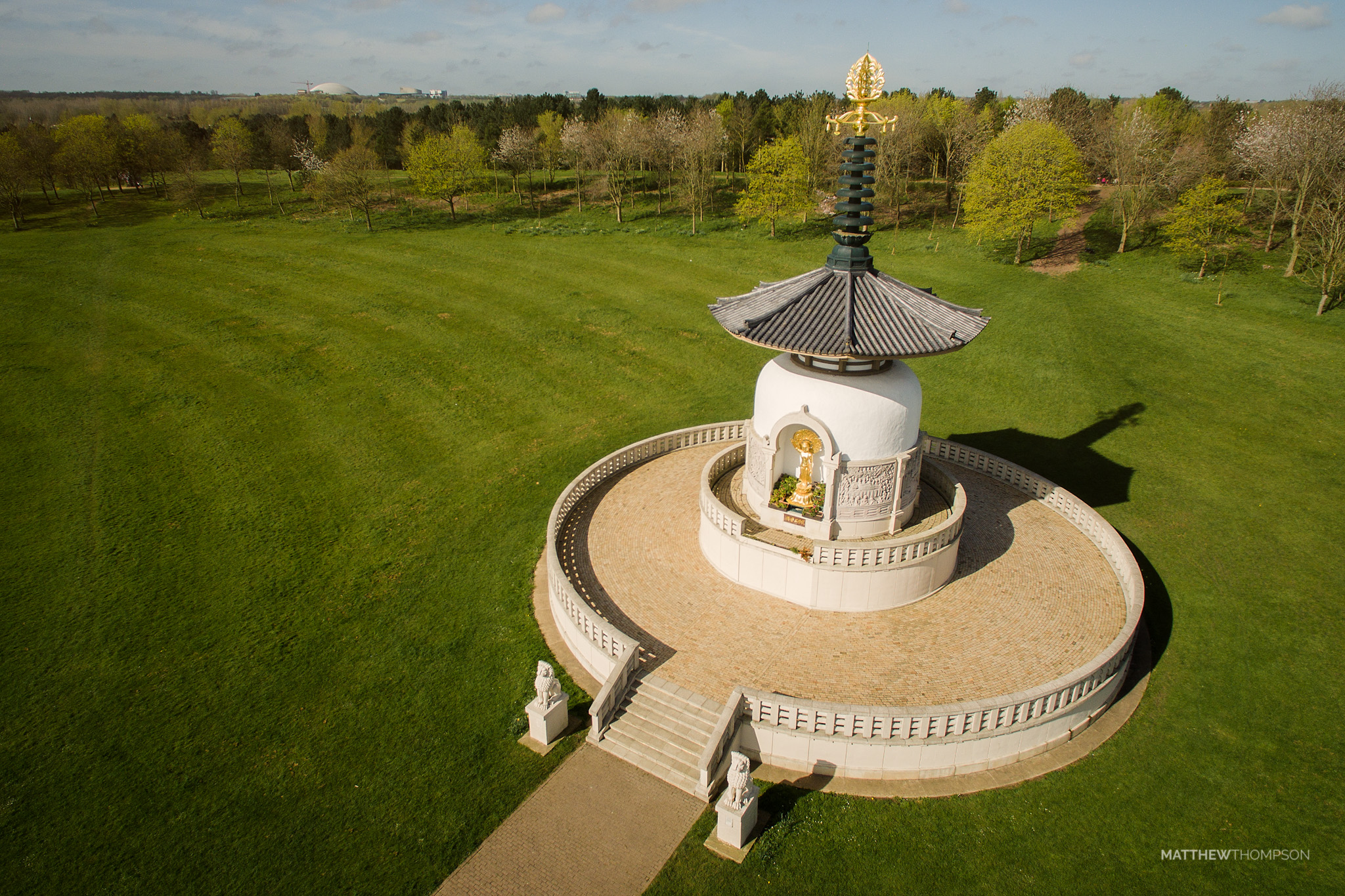 Willen Lake Peace Pagoda
