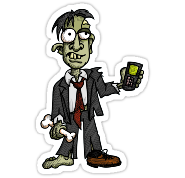 Zombie Cell Phone