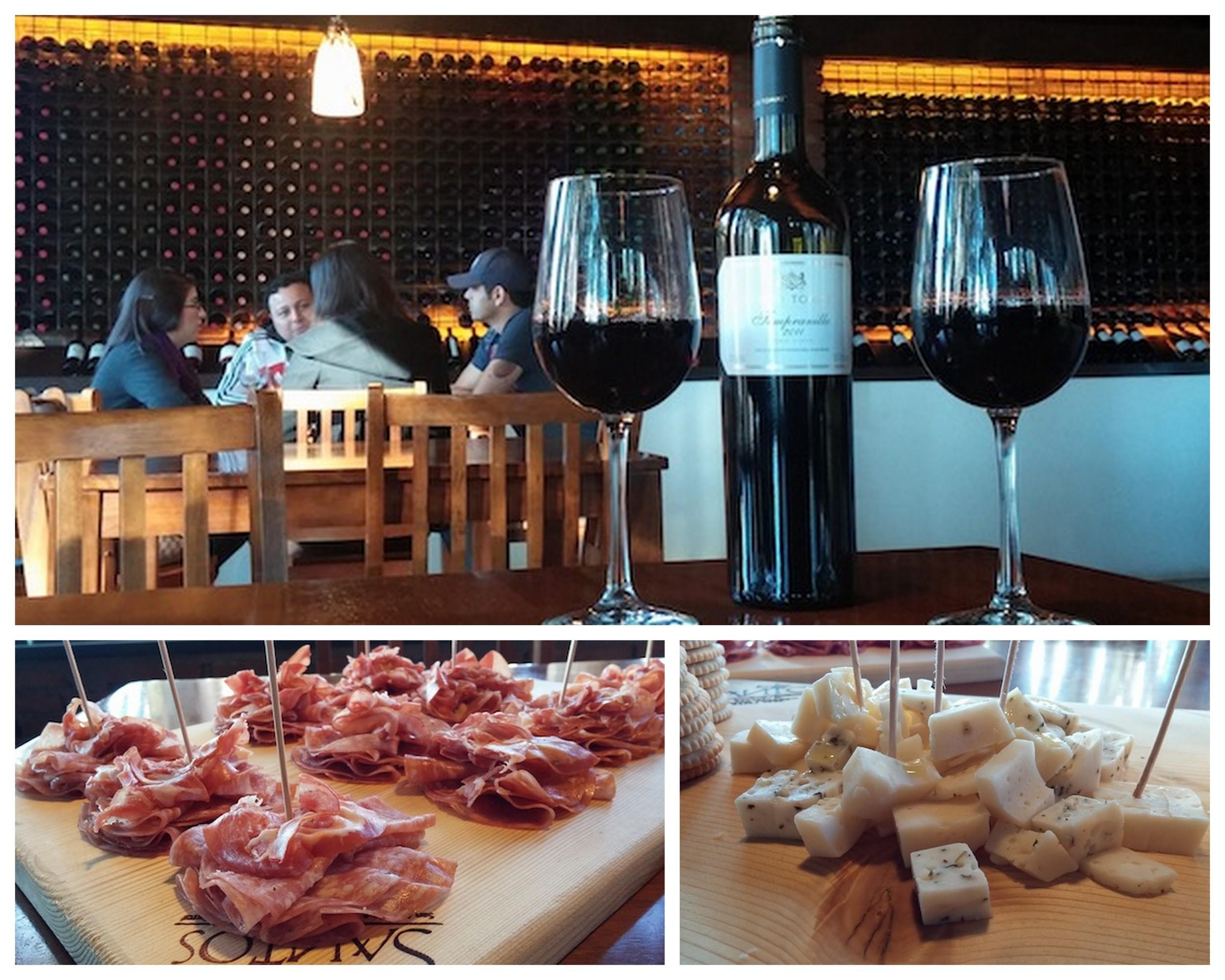 Tasting Room at Bodegas Santo Tomas #ensenada #mexico #wine
