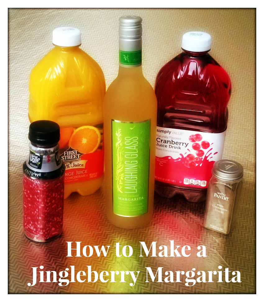 How to Make a Jingleberry Margarita